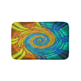 Bath mat - color spiral