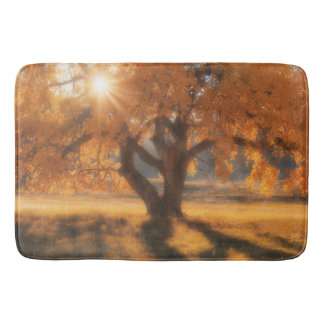 Bath Mat Western Autumn Tree
