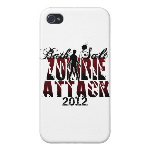 Bath Salt Zombie Attack 2012 Case For iPhone 4
