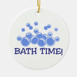 Bath Time Christmas Ornament