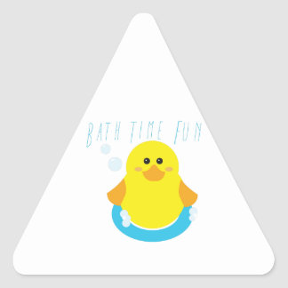 Bath Time Fun Sticker