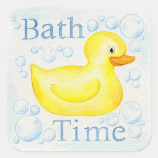 Bath Time Rubber Ducky sticker