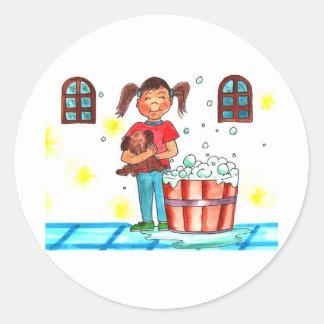 Bath Time Stickers