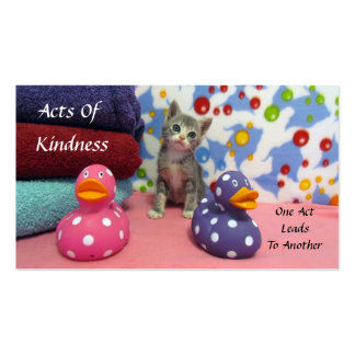 Bath Time with Aidan Random Acts of Kindness Cards Pack Of Standard Business Cards