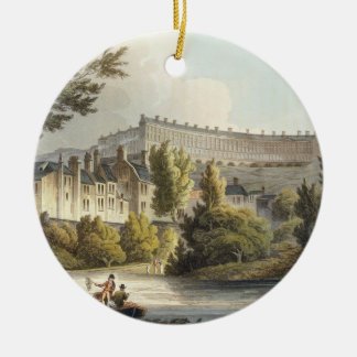 Bath Wick Ferry, from 'Bath Illustrated by a Serie Christmas Ornament