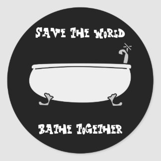 Bathe Together Sticker