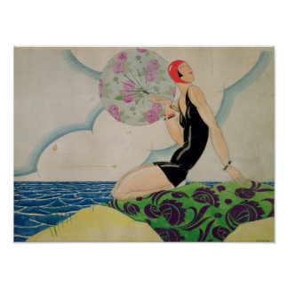 Bather, c.1925 poster