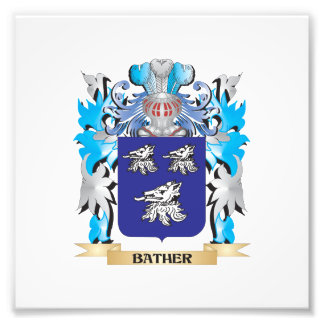 Bather Coat of Arms Art Photo
