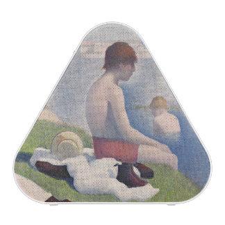 Bathers at Asnières, 1884 (oil on canvas)