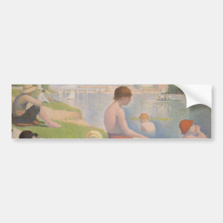Bathers at Asnieres by Georges Seurat Bumper Sticker