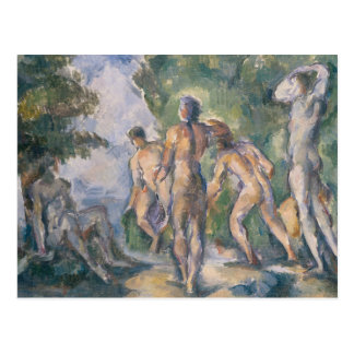 Bathers at Rest by Paul Cezanne Postcard