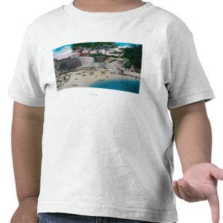 Bathing Beach at Pacific Grove T Shirt