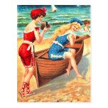 Bathing beauties postcard