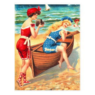 Bathing beauties postcard