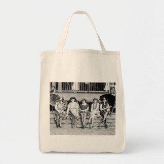 Bathing Beauty Costume Contest Vintage Glamour Tote Bag