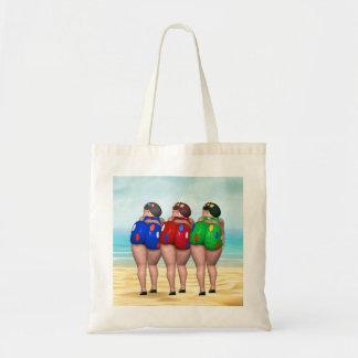 Bathing Beauty Tote Bags