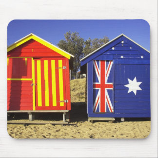 Bathing Boxes, Middle Brighton Beach, Port 2 Mouse Pad