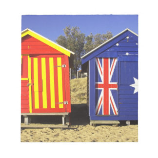 Bathing Boxes, Middle Brighton Beach, Port 2 Notepad