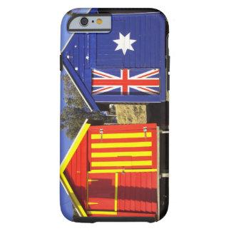 Bathing Boxes, Middle Brighton Beach, Port 2 Tough iPhone 6 Case