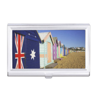 Bathing Boxes, Middle Brighton Beach, Port Business Card Holder
