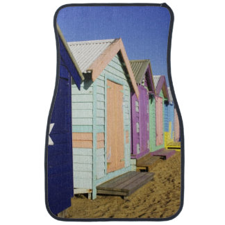 Bathing Boxes, Middle Brighton Beach, Port Car Mat