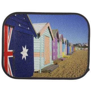 Bathing Boxes, Middle Brighton Beach, Port Car Mat