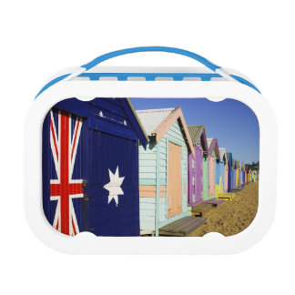 Bathing Boxes, Middle Brighton Beach, Port Lunch Boxes