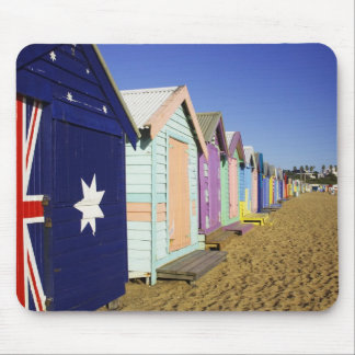 Bathing Boxes, Middle Brighton Beach, Port Mouse Mat