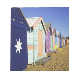Bathing Boxes, Middle Brighton Beach, Port Notepad