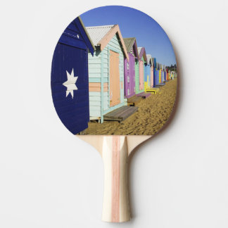 Bathing Boxes, Middle Brighton Beach, Port Ping Pong Paddle
