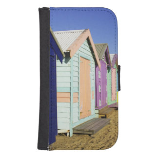 Bathing Boxes, Middle Brighton Beach, Port Samsung S4 Wallet Case