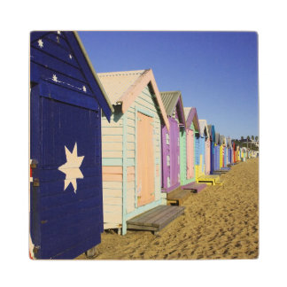 Bathing Boxes, Middle Brighton Beach, Port Wood Coaster