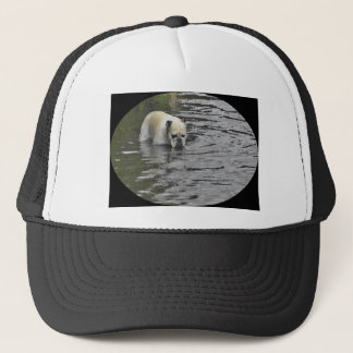 Bathing Bulldog Trucker Hat