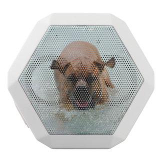 Bathing French Mastiff White Boombot Rex Bluetooth Speaker