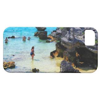 Bathing in the Ocean St George Bermuda iPhone 5 Cover