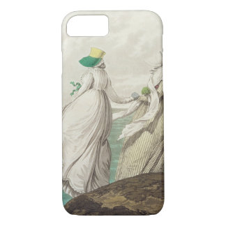 Bathing Place, from 'Gallery of Fashion', 1797 (co iPhone 8/7 Case