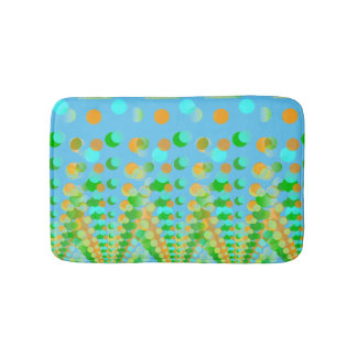 Bathmat With Dots Bath Mats