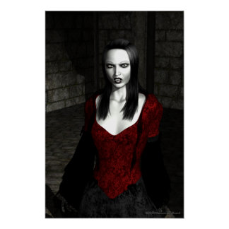 Bathory Gothic Artwork Poster