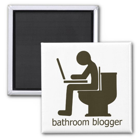 Bathroom Blogger Griege Magnet
