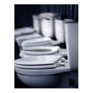 Bathroom Break!! Postcard
