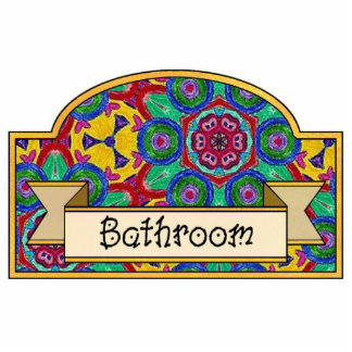 Bathroom - Decorative Sign Photo Sculpture Decoration