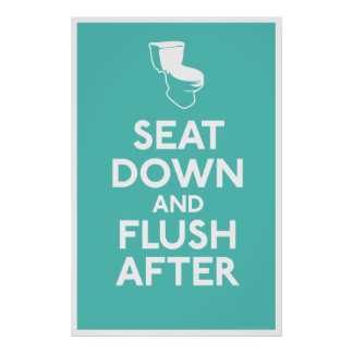 Bathroom Humor Print