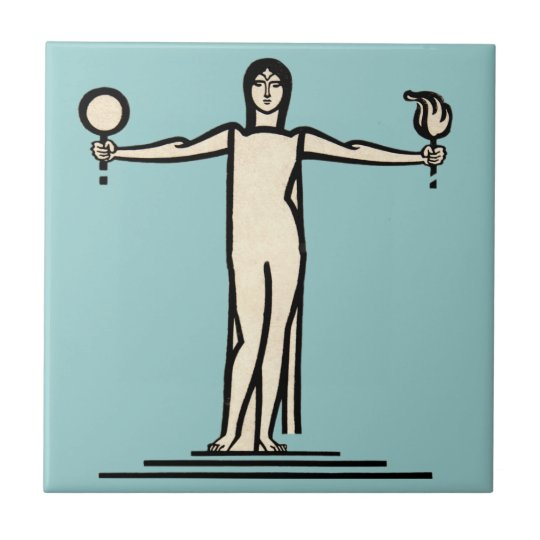 Bathroom Tile Vintage French Art Deco