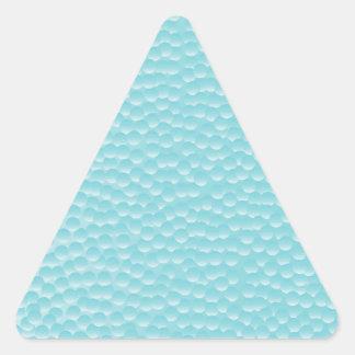 Bathroom Window Glass Triangle Sticker