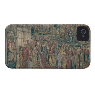 Bathsheba ordered to the Palace, Tapestry of David iPhone 4 Cover