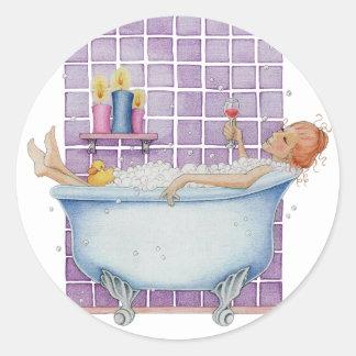 Bathtub Joy Sticker