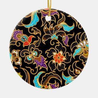 batik ameng 03 christmas ornament