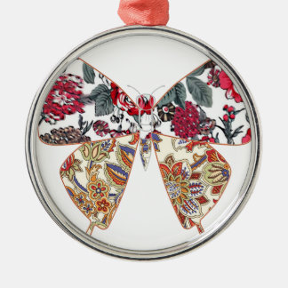 batik and butterfly no.2 christmas tree ornament
