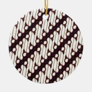 batik arjuna 03 christmas ornament