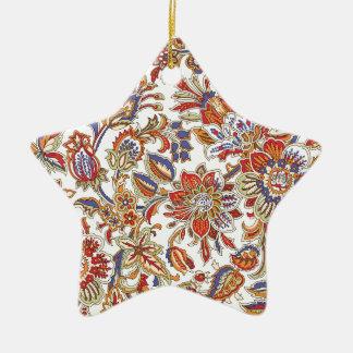 batik art no 1 ceramic star decoration